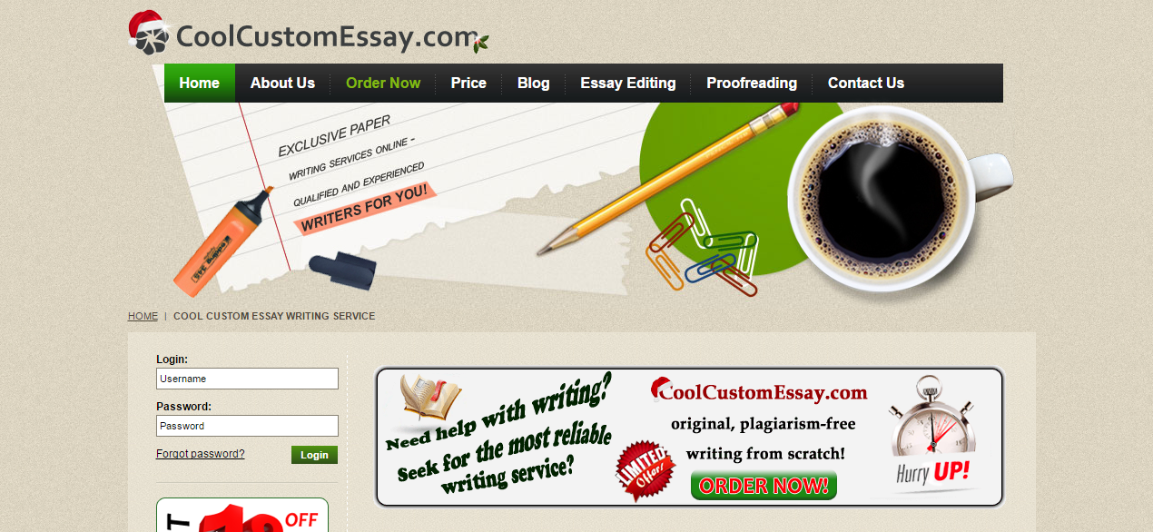 CoolCustomEssay Review