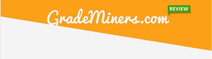 GradeMiners.com reviews