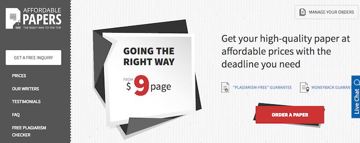 affordablepapers-com-review